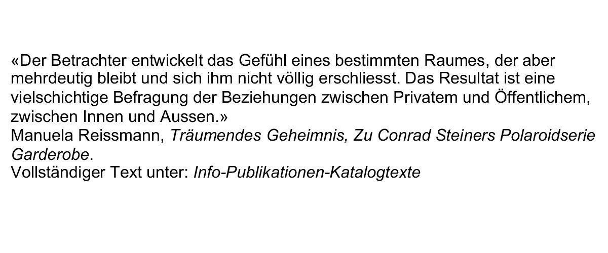 zitiert aus Ausstellungskatalog,Museum zu Allerheiligen, Schaffhausen 2010