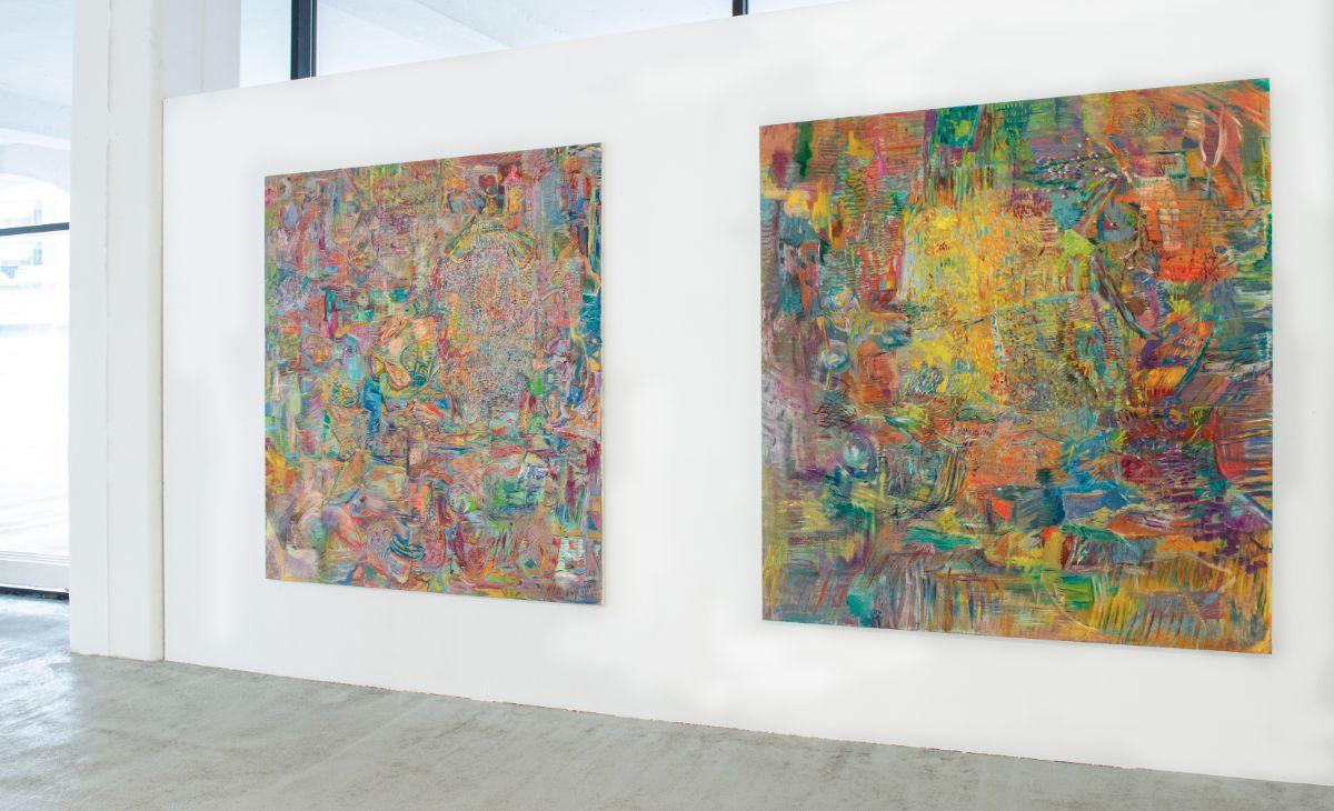 Danaë,2019,Galerie Adrian Bleisch, Arbon