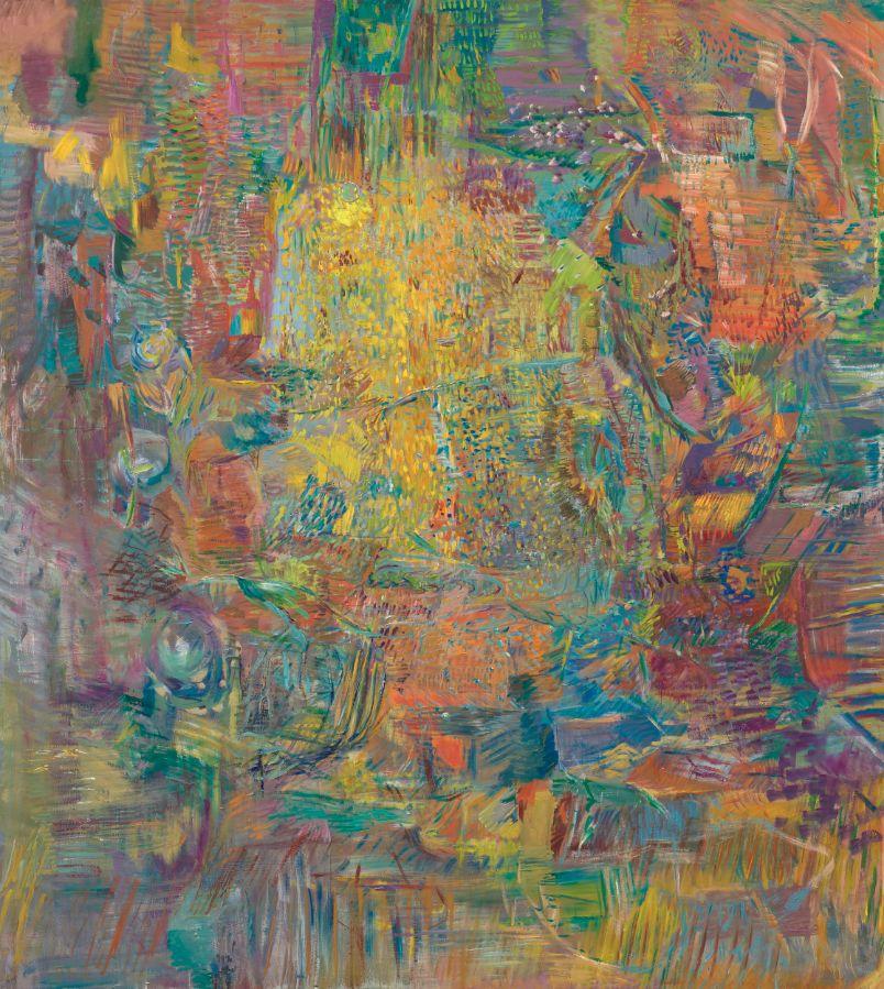 Danaë, 2019, Öl auf Leinwand,190x170cm