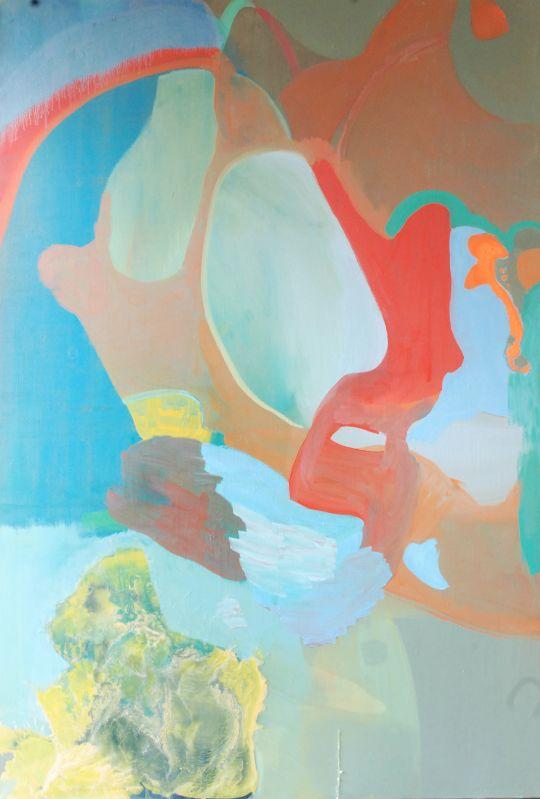 o.T.,2004,Öl und Lack auf Leinwand,180x120cm