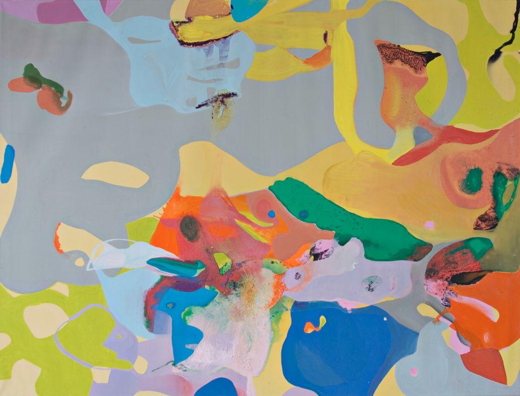 o.T.,2004,Öl und Lack auf Leinwand,190x240cm