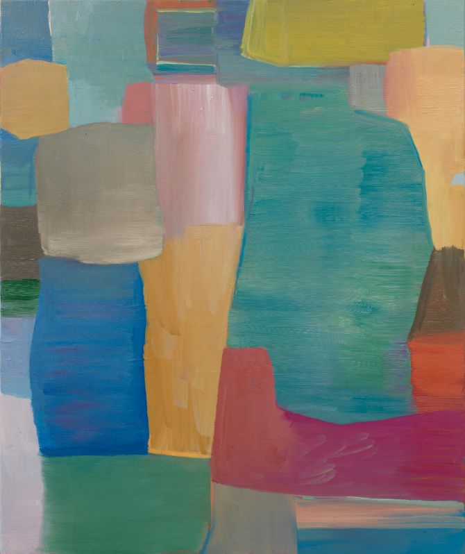 Regenbogen,2010,Öl auf Leinwand,120x100cm