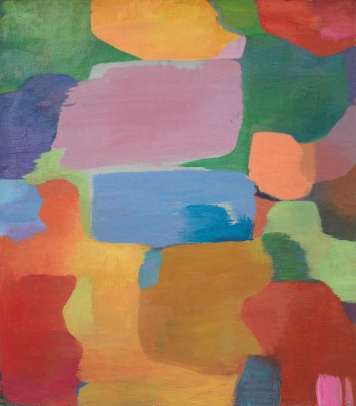 Umherziehen I,2008,Öl auf Leinwand,248x217cm