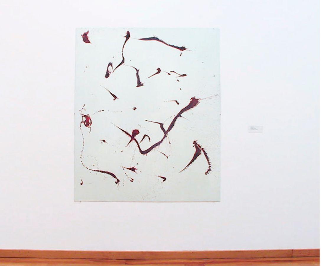 E1,2003,Lack auf Aluminium,180x130cm,Museum zu Allerheiligen,Schaffhausen