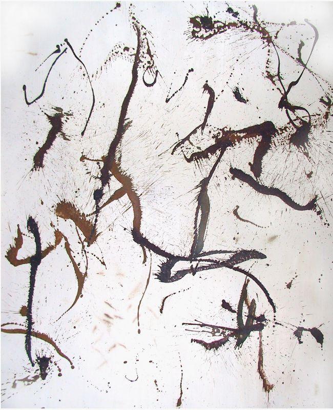 o.T.,2003,Lack auf Aluminium,180x130cm