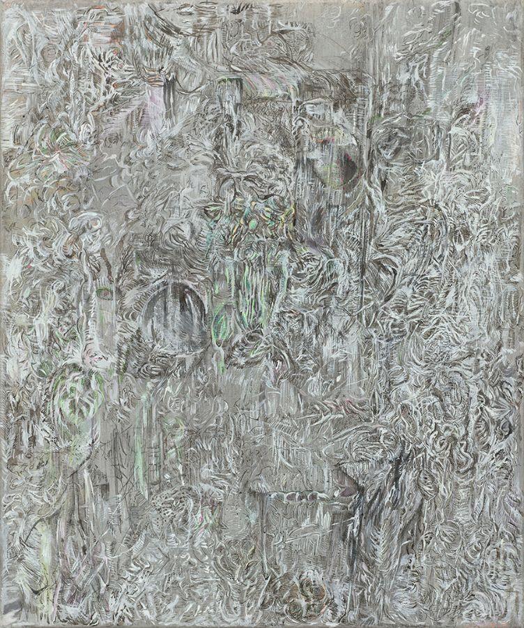 o.T.,2017,Mischtechnik auf Leinwand,60x50cm