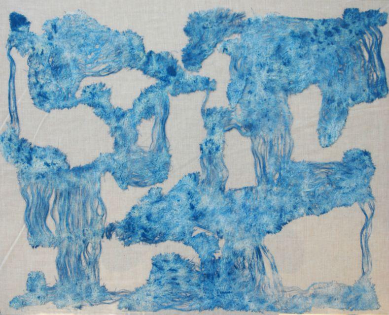 Albatross,2011,Stoff,70x90 cm