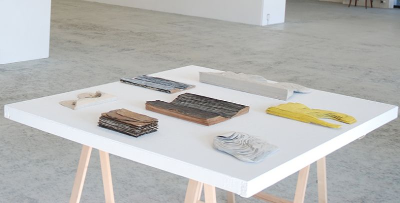 Ausstellungsansicht,2017,Galerie Adrian Bleisch, Arbon