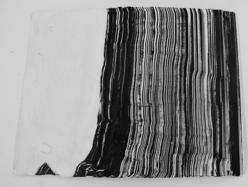 Berge und mehr,2015,Transparentpapier,Druckfarbe,24x31cm